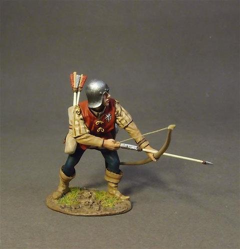 NFYORK-11 Yorkist Billmen (4 figs.)  Retinue of John Howard, 1st Duke of Norfolk