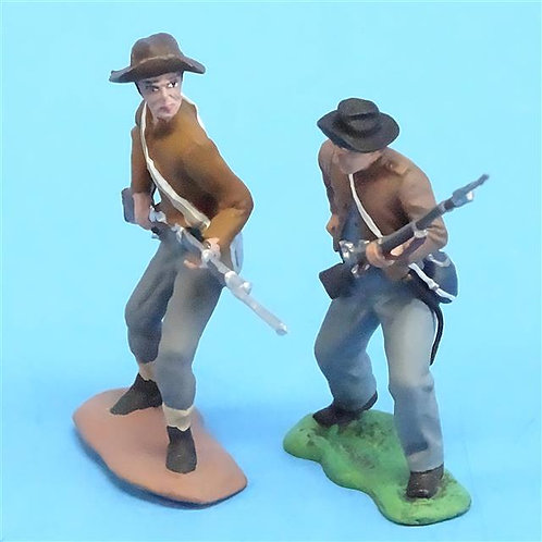 CORD-0851 - Confederates Loading (2 Figures) - ACW - Unknown Manufacturer - 54mm