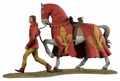 BH1101 - War Horse and Page