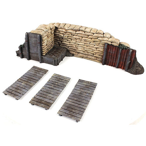 51041 - WWI / WWII Trench Section with Duckboards