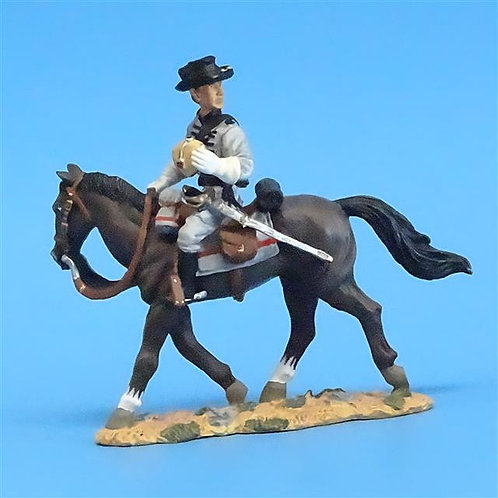 CORD-1023 Confederate Cavalry Private 3 - ACW - Britains (Set 17403)  54mm Metal