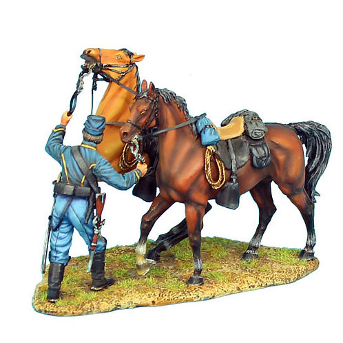 ACW038 - Union Dismounted Cavalry Horse Holder