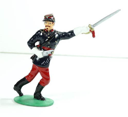 WB15B - Union Officer with Sabre - Civil War