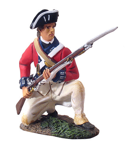 18023 - British Royal Irish Center Company Kneeling At The Ready No. 1
