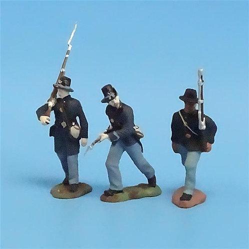 CORD-193 - Iron Brigade (3 Figures) - Manufacturer Unknown - 54mm Metal - No Box