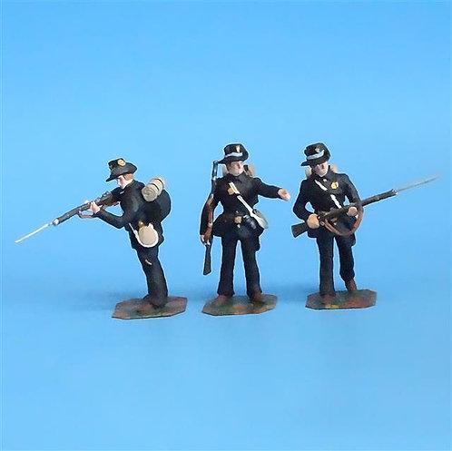 CORD-168 Iron Brigade (3 Figures) - Soldier Bay Miniatures - 54mm Metal - No Box