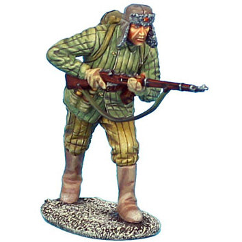RUSSTAL028 - Russian Infantry Advancing in Winter Boots