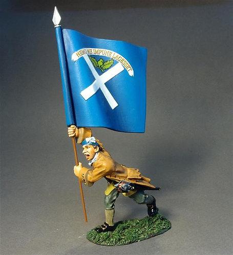 JR-25 Lowland Infantry Flagbearer - Captain John Kinloch  Lord Ogilvy's Regiment