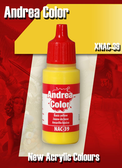 XNAC-39 - Basic Yellow - Andrea Color