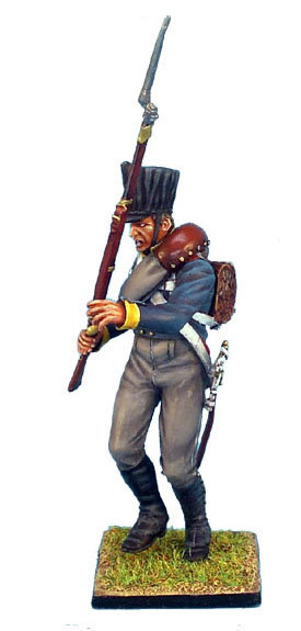 NAP154 - Prussian 11th Line Infantry Regiment Musketeer Falling Backwards