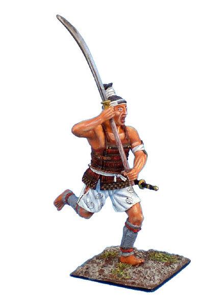 SAM001 - Ashigaru Charging with Raised Naginata