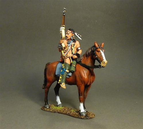 RSF-24A - Woodland Indian on Horse A