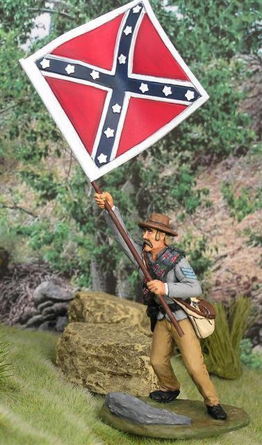 MTT-AL04 - 15th Alabama Regiment Flagbearer
