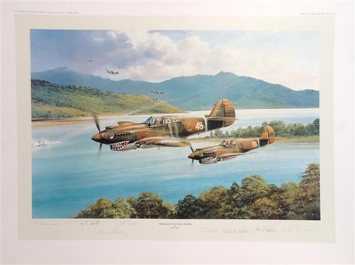 AAP-01 - Chennaults Flying Tigers by Robert Taylor, 1991