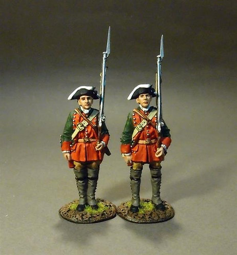 RRBPEN-03 - Pennsylvania Provincial Regiment, 2nd Line Infantry at Attention