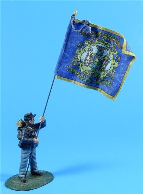 FD-207B - 10th New York (Regimental Colours)