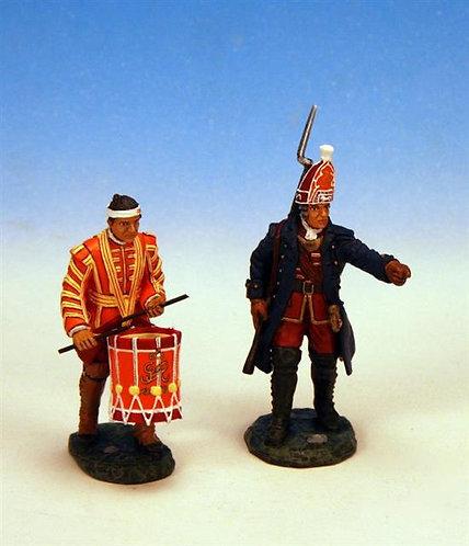 IBG.3 - Officer and Drummer, Grenadiers