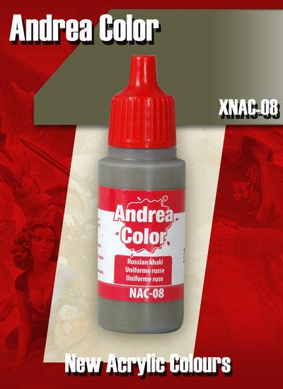 XNAC-08 - Russian Khaki - Andrea Color
