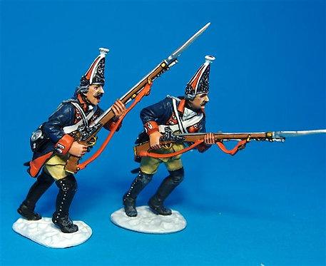 LEUT-06 - Prussian Grenadiers Advancing #4  The Battle of Leuthen 1757