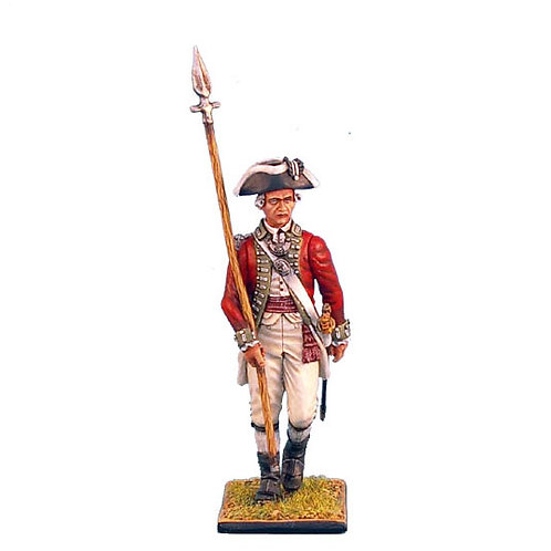 AWI021 - British 5th Foot Officer with Spontoon