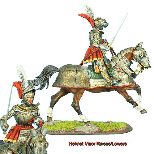 REN036 - French Mounted Knight with Sword #2