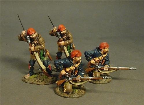 MF-03RN - Quebec Militia  4 Militia Skirmishing