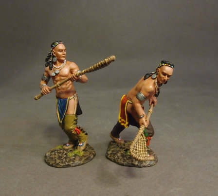 WIM-15 - Woodland Indian Lacrosse Players