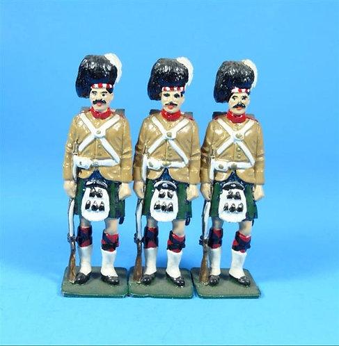 MI-027 - Blackwatch Highlanders - 3 Figures - No Box