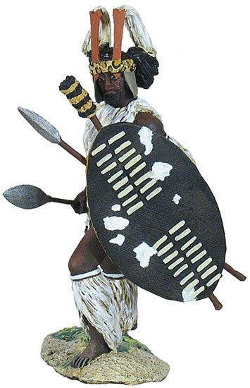 20136 - Zulu uMbonambi Regiment Advancing No.1
