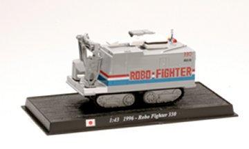 CBO010 - Robo Fighter 330, 1996, Japan  Scale: 1:43