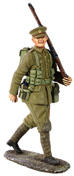 23066 - 1914 British Infantry Marching with Full Kit No.1