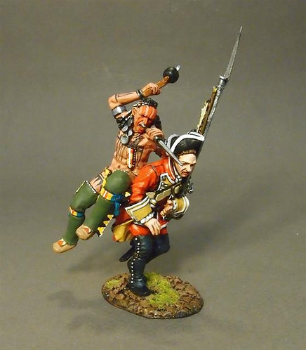 QB-44 - Indian Attacking Line Infantry #1