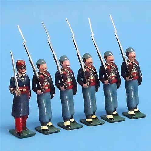 COWF-0051 - 76th Pennsylvania Volunteer Infantry Regiment  (Keystone Zouaves)