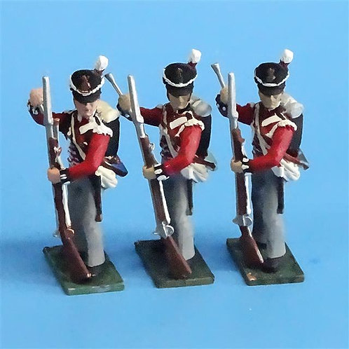 CORD-N0193 - British Infantry - Standing Loading (3 pcs) - Soldiers of the World
