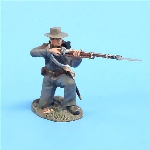 CORD-0554 Confederate Kneeling Firing  (Set 31163) - ACW - Britains - 54mm Metal
