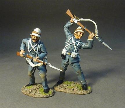 RML-05 - Two Marines Defending  Royal Marine Light Infantry