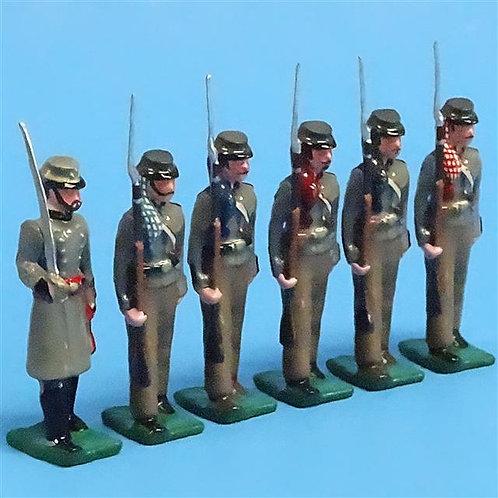 COWF-0079 - 6th Florida Volunteer Infantry Regiment  Co. B