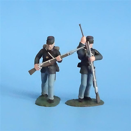 CORD-268 - Union Infantry (2 Figs) - Soldiers of the World - 54mm Metal - No Box