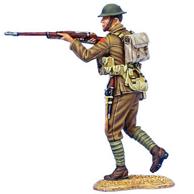 GW029 - British Infantry Walking Firing MLM Mk. II - 11th Royal Fusiliers