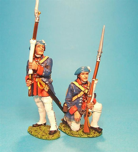 EEC-05 - Line Infantry at the Ready  Regiment Royal Ecossois