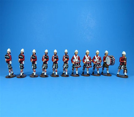 PB1a - Seaforth Highlanders Pipes and Drums (Red)
