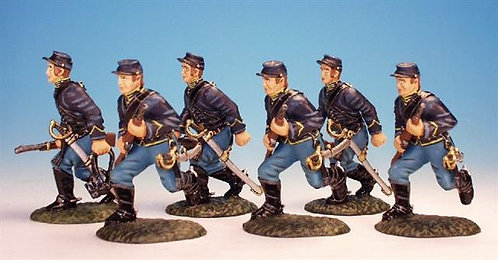 DC.2 - 6 Advancing, Dismounted Cavalry