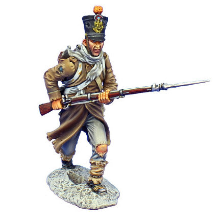 NAP490 - French Fusilier Charging - 4th Line Infantry