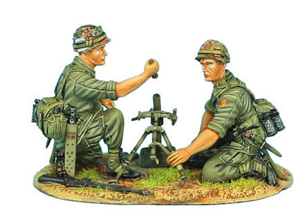 VN019 - US 25th Infantry Division M2 Mortar Team