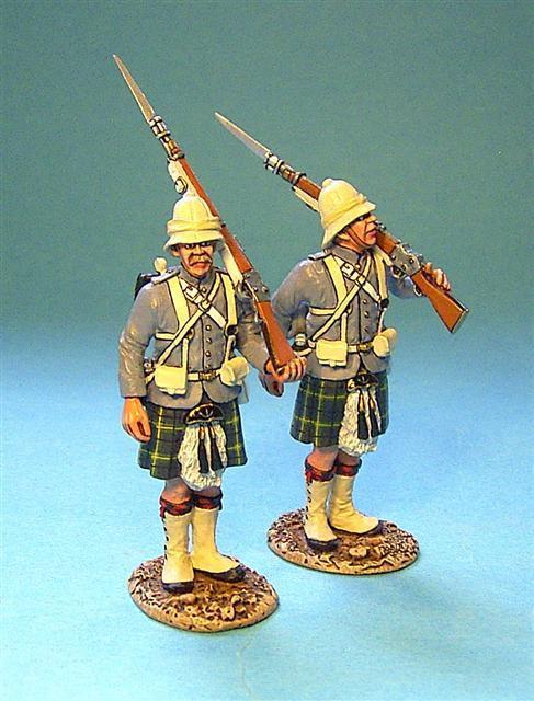 GDH-07 - Gordon Highlanders 2 Figures Standing