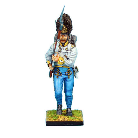 NAP0306 - Austrian Hahn Grenadier Charging Raised Musket