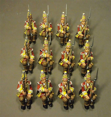 QBOAT-03 - 15th Regiment of Foot Grenadiers (12 pcs)  Quebec Landing Barge Crew