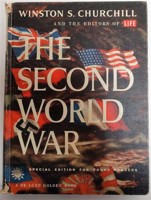 BK095B - The Second World War by Winston Churchill (for young readers)