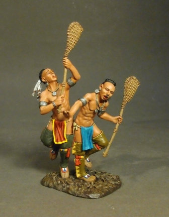WIM-12 - Woodland Indian Lacrosse Players