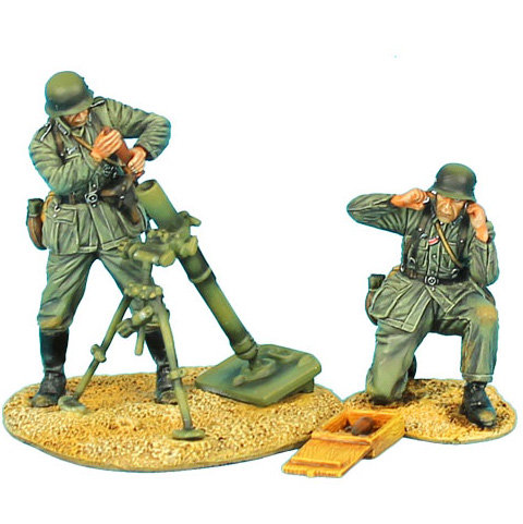 GERSTAL044 - German Heer Infantry 80mm Mortar Team